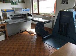 Бумагорезальная машина Perfecta 92TS / Wohlenberg WB92 БУ 2012