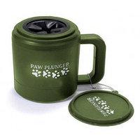 Paw Plunger Medium Green Лапомойка для средних собак зеленая, для лапы 8 см