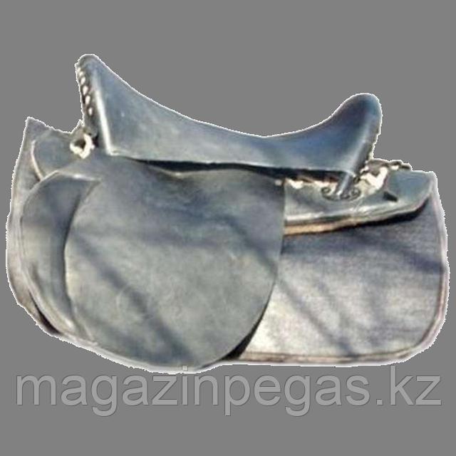 Седло кавалерийское-рабочее. Киргизия