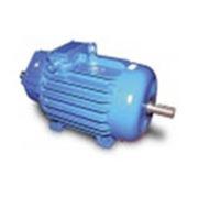 Электродвигатель крановый МТФ 15 квт 740 об/мин лапофланец с конусным валом