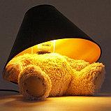 """Плюшевый светильник """"Медвеженок"""", фото 2"""