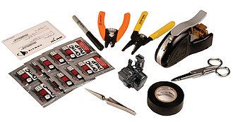 Набор инструмента для механического терминирования LC/SC коннекторов типа FTERM-XLR8