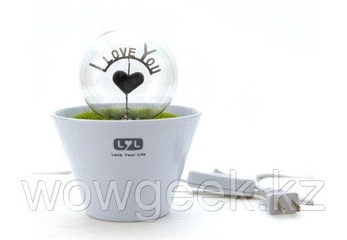 Светильник для влюбленых керамический