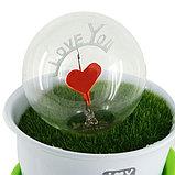 Светильник для влюбленых керамический, фото 2