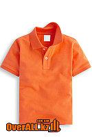 Оранжевая детская футболка, фото 1