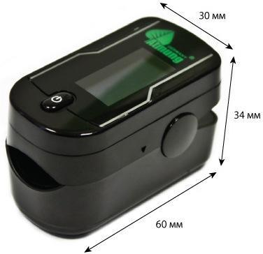 Пульсоксиметр Atmung MC300C21C компактный и легкий, поэтому всегда будет под рукой