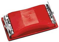 Брусок для шлифования, 210 х 105 мм, пластиковый с зажимами MATRIX