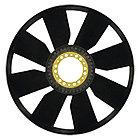 Крыльчатка вентилятора (9 крыльев)   на MAN, МАН, POVERPLAST P2032, фото 2