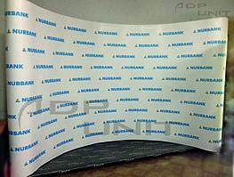 Pop Up 3*5 (Press Wall) с печатью