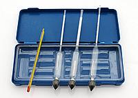 Спиртометр 0-40, 40-70, 70-100 (Ареометр)+термометр
