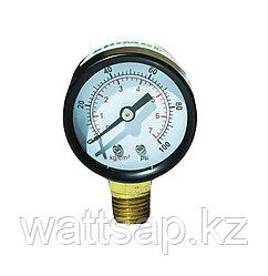 Манометр технический 0-7kg/cm2 40мм радиальный Shimge