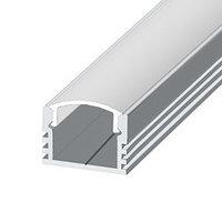 Светодиодный профиль ЛП12 Профиль алюминиевый, анодированный, цвет - серебро