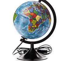 Глобус политический диаметр 210мм с подсветкой