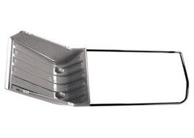 Скрепер 640х700х1520, 2 части (пласт.ковш, с колес., ручка эргоном. формы) PALISAD LUXE