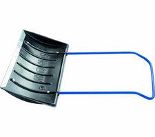 Движок для снега 750 х 405 х 1,1 мм, пластиковый, П-образная ручка СИБРТЕХ Россия