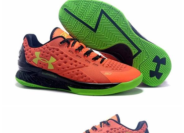 Кроссовки UA Curry One Low низкие ( Stephen Curry) оранжевые, фото 2