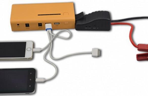 """Модель """"Carku E-POWER-37"""" подходит для подзарядки самой разной портативной электроники"""