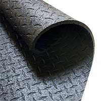 Покрытие резиновое для тренажерных залов 122х183х1,3 см (RF546)