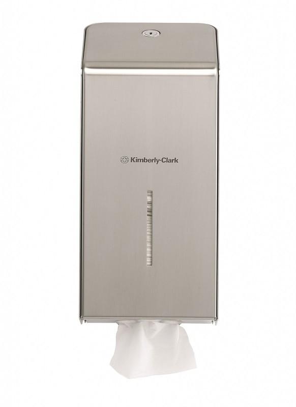 Диспенсер Kimberly-Clark (для туалетной бумаги в пачках)