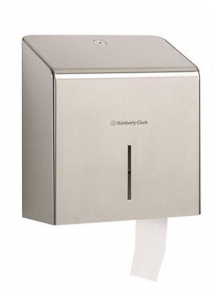 Диспенсер Kimberly-Clark из нержавеющей стали для туалетной бумаги, фото 2