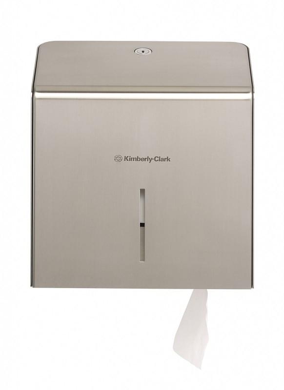 Диспенсер Kimberly-Clark из нержавеющей стали для туалетной бумаги