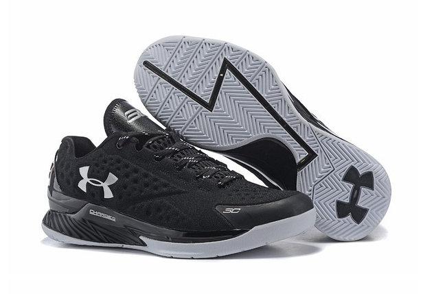 Баскетбольные кроссовки UA Curry One Low низкие ( Stephen Curry) черные, фото 2