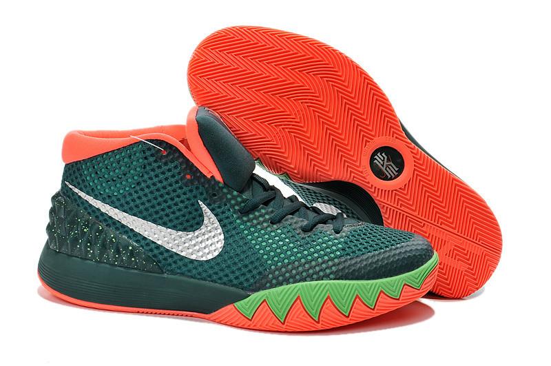 Баскетбольные кроссовки Nike Kyrie l (1) for Kyrie Irving зеленые