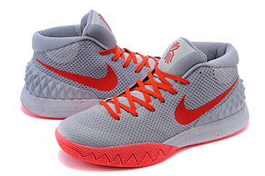 Баскетбольные кроссовки Nike Kyrie l (1) for Kyrie Irving серые, фото 2