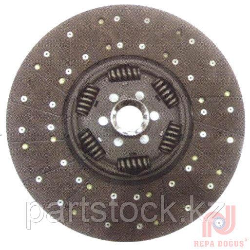 Диск сцепления 420 mm  10 зуб открытые пружины (6 шт)  на / для DAF, ДАФ, REPA 106 874