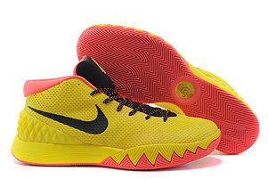 Баскетбольные кроссовки Nike Kyrie l (1) for Kyrie Irving желтые, фото 2