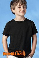 Детская футболка, черная