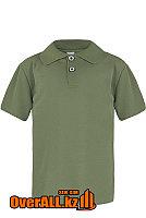 Рубашка поло цвета хаки для детей, фото 1