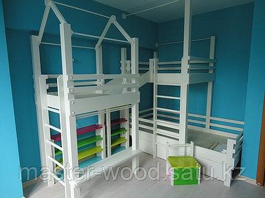 Детские кровати, столики, горки