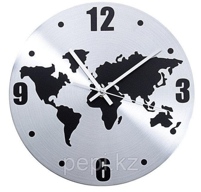 """Часы настенные, d30 """"Карта мира"""""""