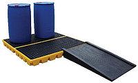 Платформа - контейнер на 4 бочки для ЛРТЖ (Код: SJ-300-006)