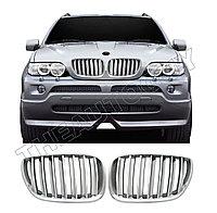 Ноздри Хромированные на BMW X5 E53 2004,2005,2006