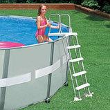 Лестница для бассейна высотой от 122 до 132 см., фото 3