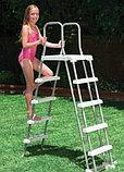 Лестница для бассейна высотой от 122 до 132 см., фото 5