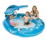 Детский надувной бассейн Intex  – «Весёлый кит» , фото 2