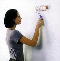 Наклейка обоев на флизилиновой основе на стены