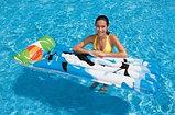 Надувной пляжный матрас Веселые картинки intex, фото 4