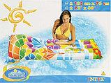 Надувной пляжный матрас Веселые картинки intex, фото 5