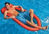 Надувной матрац-гамак для плавания 178х99 см Intex , фото 4