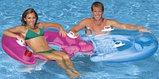 Надувное водное кресло с ручками Intex 152х99см, фото 2