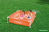 Детский каркасный бассейн Intex Mini Frame Pool (122 см на 122 см на 30 см.), фото 3