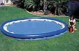 Надувной бассейн Intex Clearview Easy Set Pool. (244 х 76 см.) , фото 3