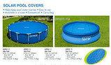 Обогревающее покрывало Intex Solar Pool Cover для бассейнов (457см), фото 4