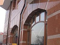 Монтаж гранита на фасад зданий