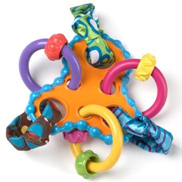Игрушки для новорожденных (погремушки, прорезыватели, подвески)