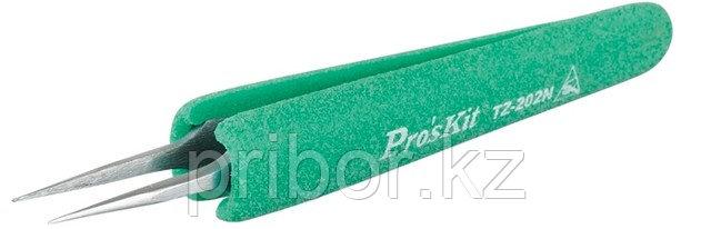 Pro`skit TZ-202N  Пинцет антистатический прямой, немагнитный